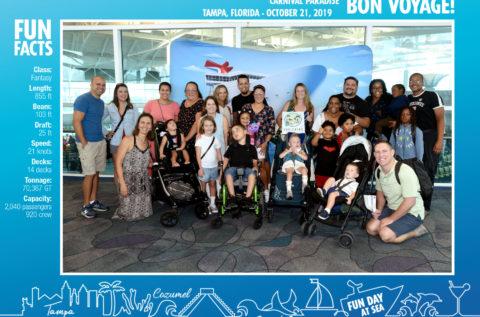 October 2019 Cruise_Pre-Boarding Group Photo